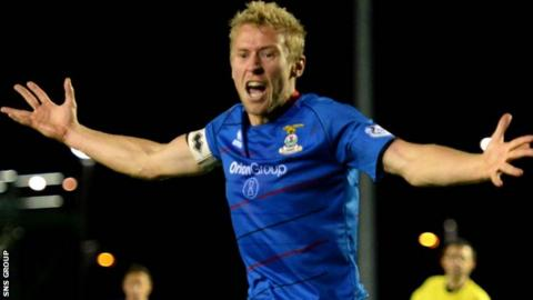 Inverness skipper Richie Foran