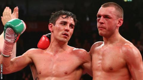 Anthony Crolla and John Murray