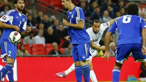 Andros Townsend scored for England against San Marino