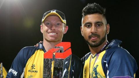 Ian Bell and Ateeq Javid