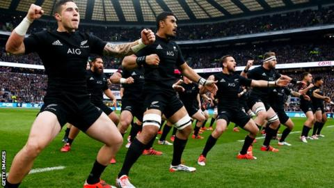 The All Blacks' Haka