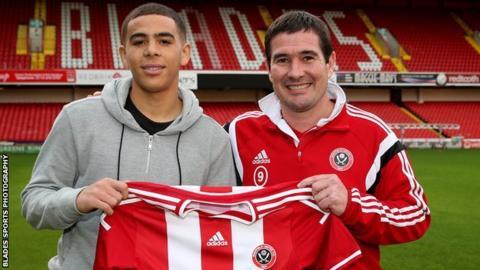 Che Adams and Nigel Clough