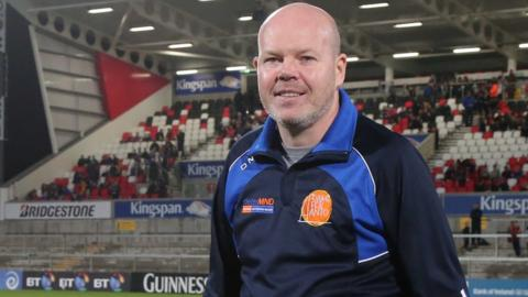 Anto Finnegan organised the Ulster v Dublin match to raise awareness of, and funds for, Motor Neurone Disease