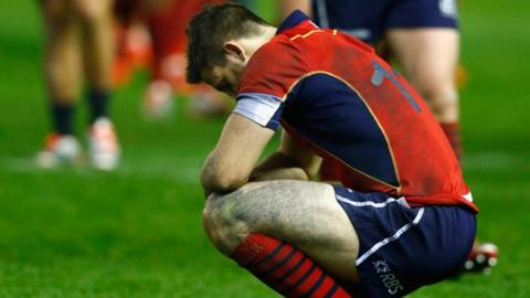 Scotland's Tommy Seymour after All Black defeat