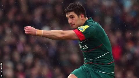 Owen Williams of Leicester Tigers