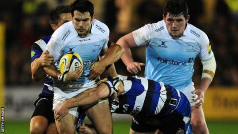 Newcastle Falcons competed against Bath but lost