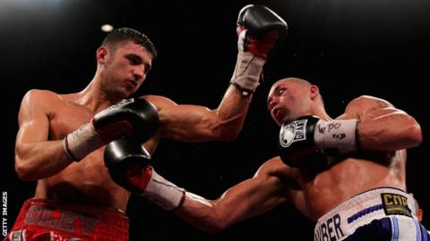 Nathan Cleverly (left) and Tony Bellew