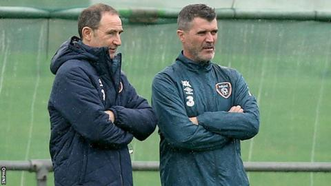 Martin O'Neill appointed Roy Keane as his assistant in November 2013