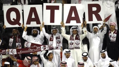 Qatar football fans
