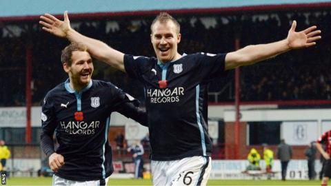Dundee striker David Clarkson