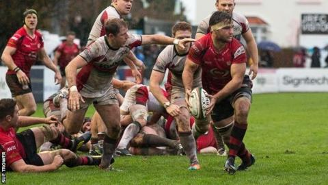 Jersey vs Plymouth Albion