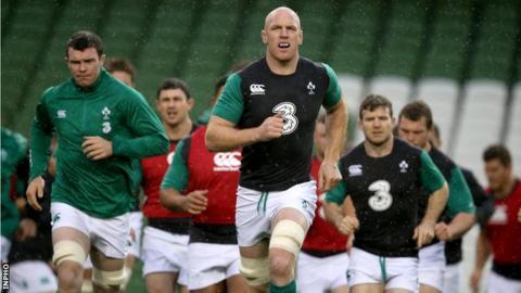Ireland captain Paul O'Connell