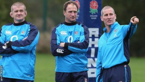 Graham Rowntree, Mike Catt, Stuart Lancaster