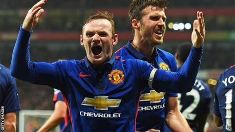 Wayne Rooney, Arsenal v Manchester United