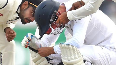 Stuart Broad was injured against India last summer