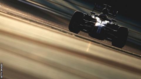 McLaren testing