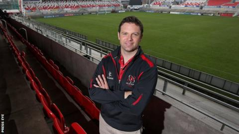 Bryn Cunningham was part of Ulster's European Cup winning squad in 1999