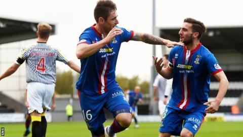 A Greg Tansey penalty gave Inverness a slim victory on their last trip to St Mirren.
