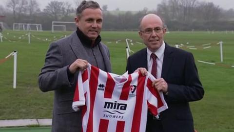 Paul Buckle and Paul Baker