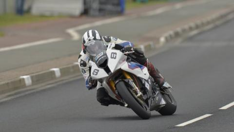 Michael Dunlop took two victories on North West 200 on Saturday with successes in the Superstock event and Superbike race two