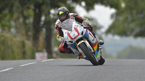 New Zealander Bruce Anstey was a double winner at the Ulster Grand Prix at Dundrod in August