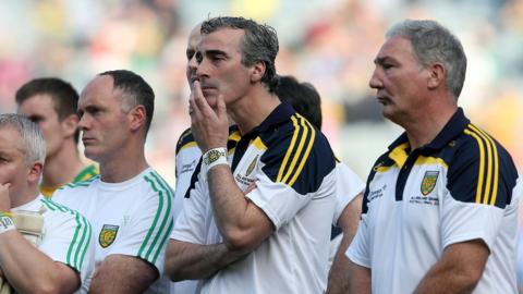 Jim McGuinness stepped down from his position as Donegal manager just a few weeks after his side lost to Kerry in the All-Ireland Final