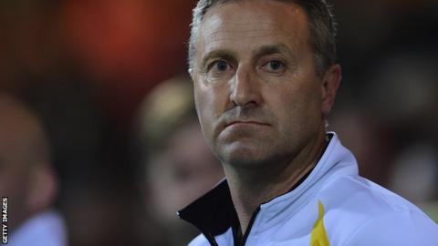 Norwich City boss Neil Adams