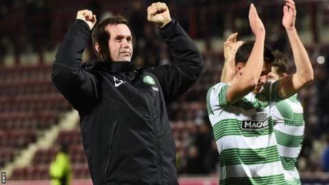 Ronny Deila felt Celtic could have defeated Hearts by more than four goals.