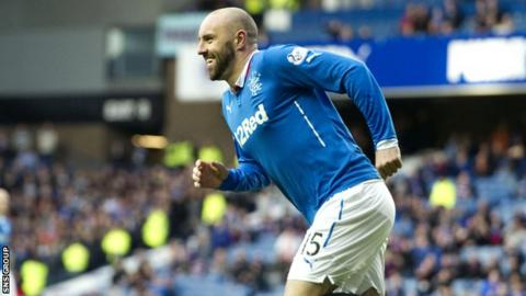 Kris Boyd scored his ninth goal of the season in a comfortable Rangers victory