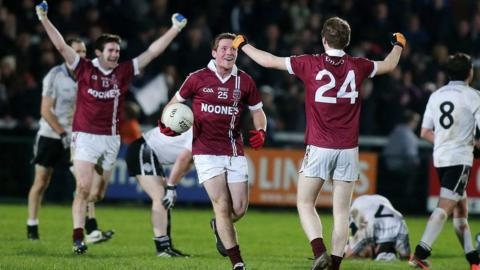 Slaughtneil won their first ever Ulster Club Championship by edging a 1-10 to 1-09 victory over St Enda's of Omagh