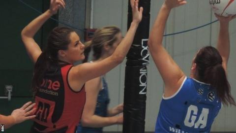 Georgia Hickey defends vs Loughborough TFC