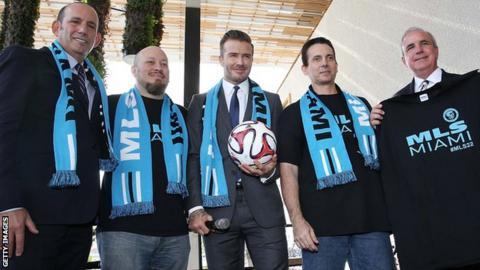 David Beckham, Don Garber