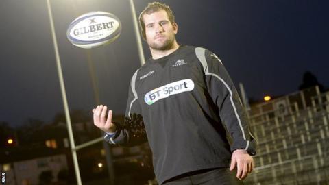 Glasgow Warriors hooker Fraser Brown