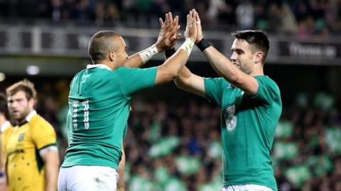 Ireland completed a successful season by defeating Southern Hemisphere giants South Africa and Australia in the autumn international series at the Aviva Stadium in Dublin