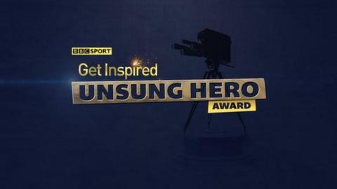BBC Get Inspired Unsunf Hero Award Logo