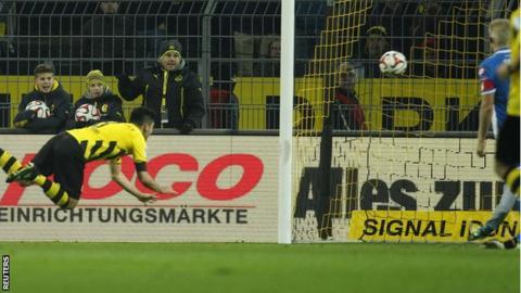 Borussia Dortmund's Ilkay Gundogan