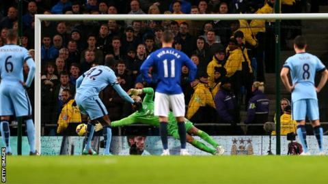 Manchester City v Everton