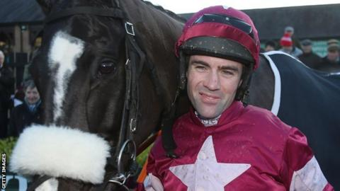 Don Cossack ridden by Brian O'Connell