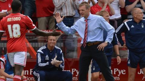 Michail Antonio and Nottingham Forest Stuart Pearce