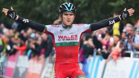 Geraint Thomas claimed Road Race gold at Glasgow 2014, having also won bronze in the Time Trial and riding brilliantly in the Tour de France just weeks earlier