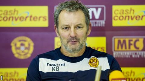 Motherwell caretaker Kenny Black