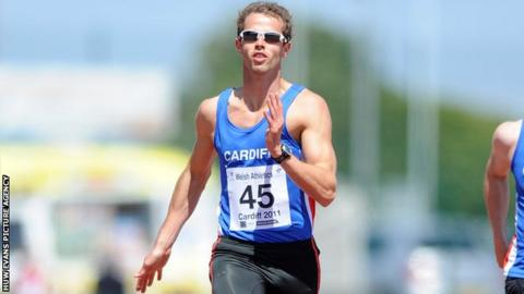 Rhys Williams was due to captain the Wales athletics team at Glasgow 2014