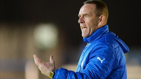 Former Kilmarnock and Morton manager Kenny Shiels
