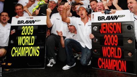 2009 Formula One world title win