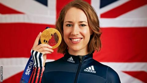Britain's Lizzy Yarnold