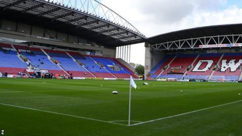 Wigan's DW Stadium