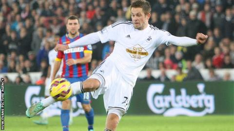 Gylfi Sigurdsson previously played 18 times for Swansea on loan from German side Hoffenheim in 2012