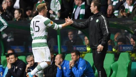 Kris Commons and Ronny Deila