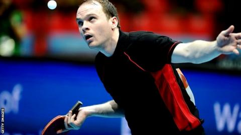 Table tennis Paul Drinkhall