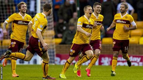 Motherwell are 10th in the Scottish Premiership